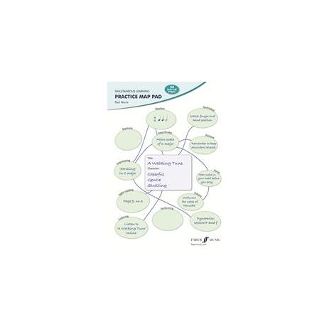 Simultaneous Learning Practice Map Pad