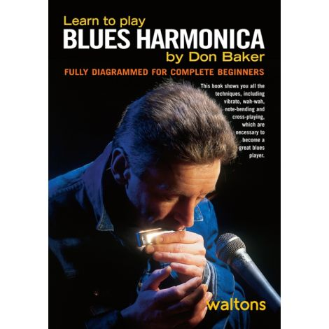Baker | Learn to Play Blues Harmonica