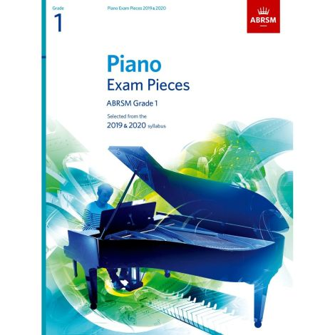 ABRSM PIANO EXAM PIECES 2019-2020 GRADE 1 BOOK ONLY