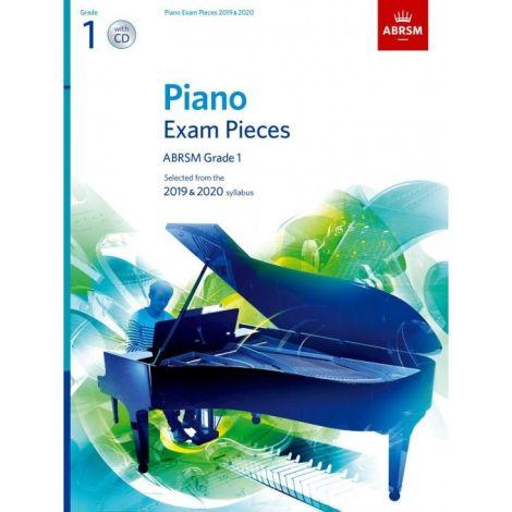 ABRSM PIANO EXAM PIECES 2019-2020 GRADE 1 BOOK AND CD