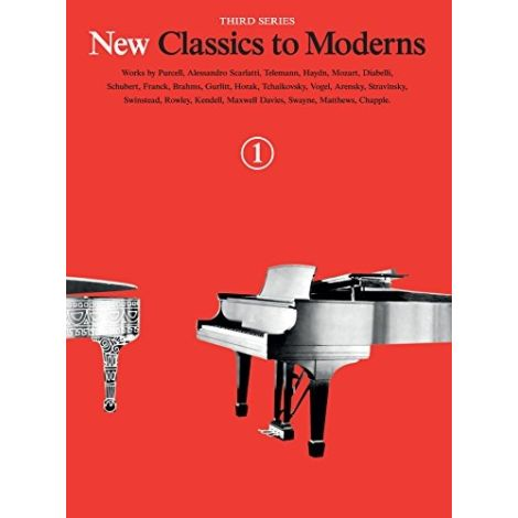 New Classics To Moderns Book 1