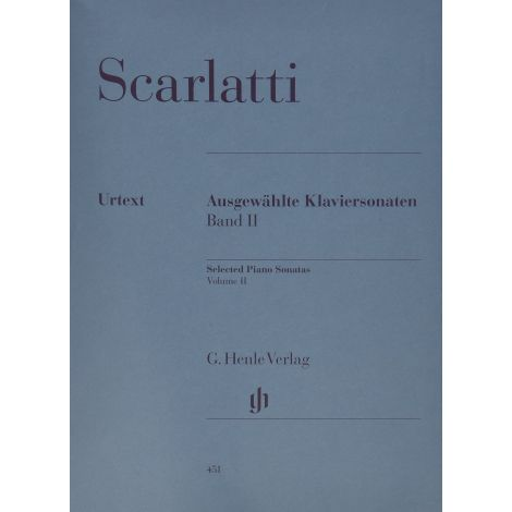 Scarlatti: Selected Piano Sonatas Vol. 2 (Henle)
