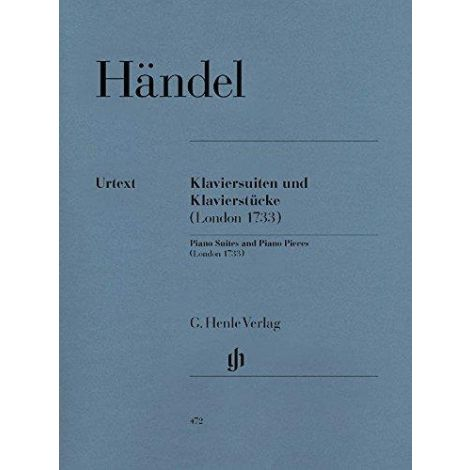 Handel: Piano Suites and Piano Pieces (Henle)