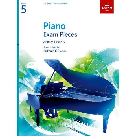 ABRSM PIANO EXAM PIECES 2019-2020 GRADE 5 BOOK ONLY