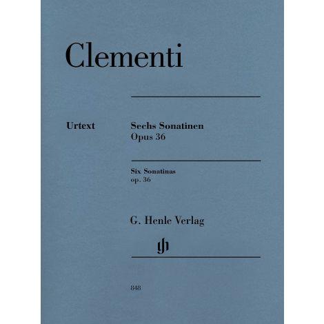Clementi: Six Piano Sonatinas op. 36 (Henle)