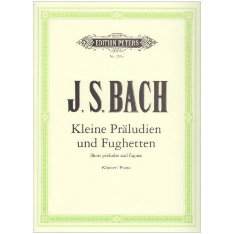 Bach: 24 Short Preludes and Fugues (Edition Peters)