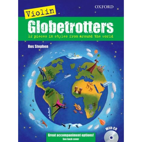 Violin Globetrotters (Book & CD)