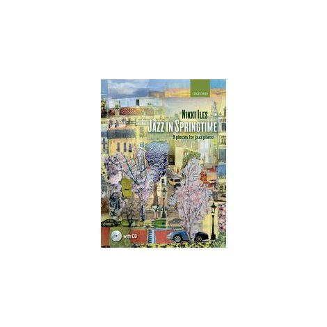 Jazz in Springtime for piano (+ CD)