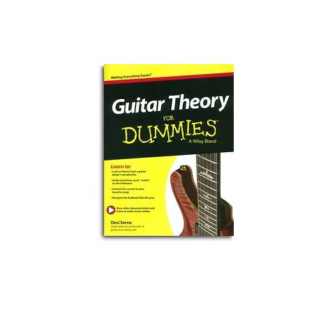 Desi Serna: Guitar Theory For Dummies (Book/Online Audio)