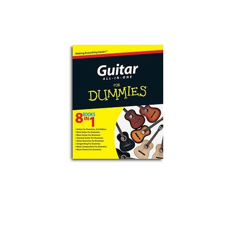 Guitar All-in-One For Dummies (Book/Online Audio)