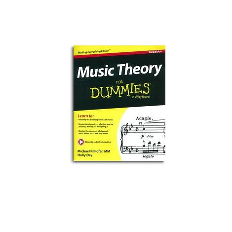 Michael Pilhofer/Holly Day: Music Theory For Dummies - 3rd Edition