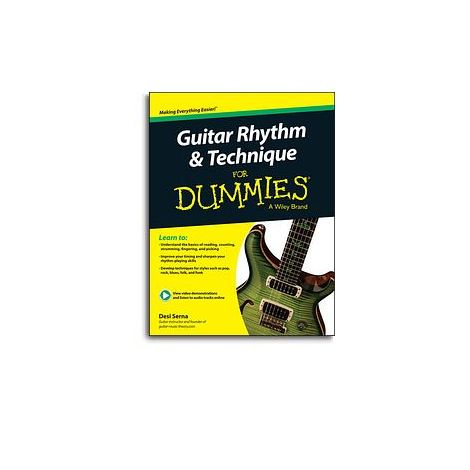 Desi Serna: Guitar Rhythm & Technique For Dummies (Book/Online Audio)