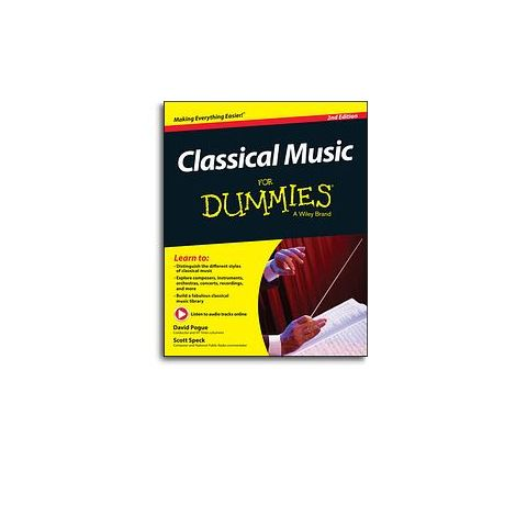 Classical Music For Dummies (2nd Edition) (Book/Online Audio)