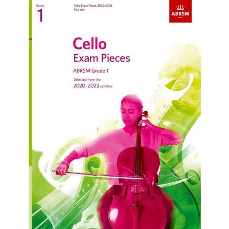 ABRSM Cello Exam Pieces 2020-2023 Grade 1 Part Only