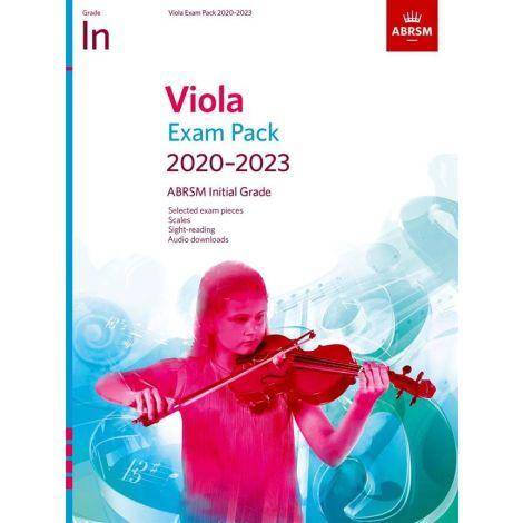 ABRSM Viola Exam Pack 2020-2023 Initial Grade