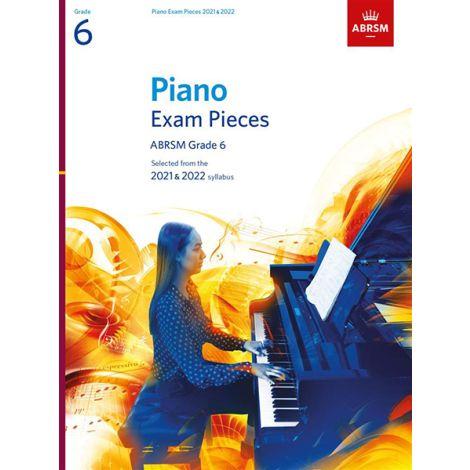 ABRSM Piano Exam Pieces 2021 & 2022 - Grade 6