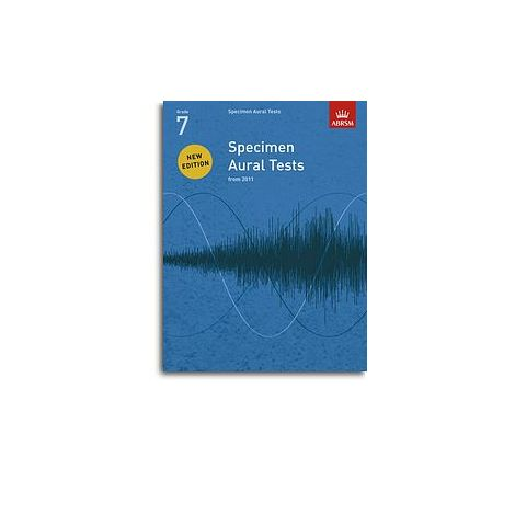 ABRSM Specimen Aural Tests - Grade 7 (2011+) Book Only