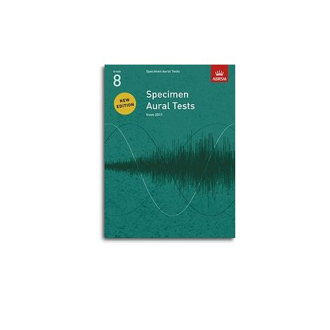 ABRSM Specimen Aural Tests - Grade 8 (2011+) Book Only