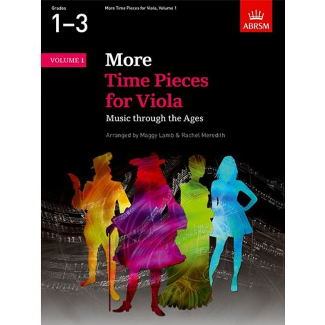 ABRSM More Time Pieces For Viola - Volume 1