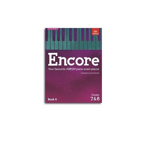 ABRSM Encore - Book 4 (Grades 7 & 8)