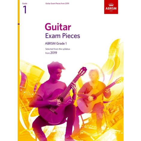 ABRSM Guitar Exam Pieces From 2019 - Grade 1 (Book)