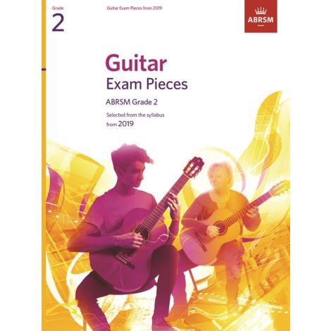 ABRSM Guitar Exam Pieces From 2019 - Grade 2 (Book)