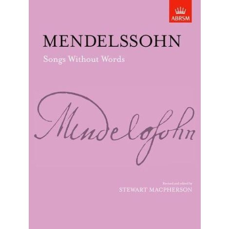 Felix Mendelssohn: Songs without Words for piano