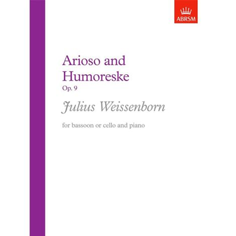 Weissenborn: Arioso and Humoreske, Op. 9
