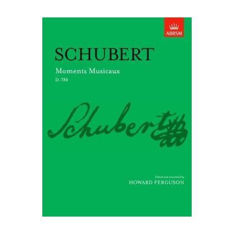 Schubert Moments Musicaux, D. 780 for piano