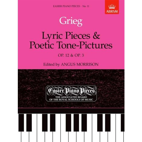 Lyric Pieces And Poetic Tone-Pictures Op.12/Op.3 Easier Piano Pieces 11