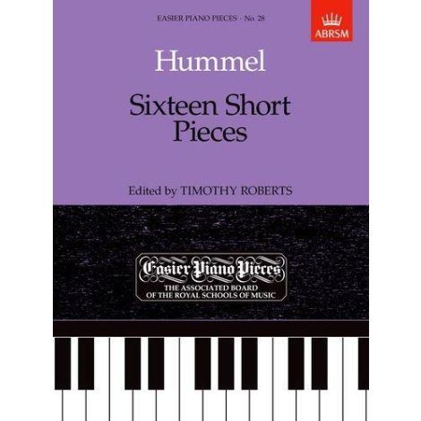 Sixteen Short Pieces for piano