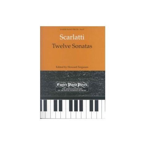 Scarlatti: 12 Sonatas for piano solo