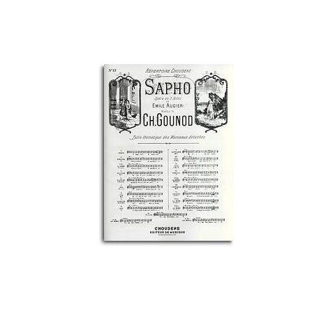 Charles Gounod/Emile Augier: Air De Sapho - No.15 Stances (Mezzo-Soprano)