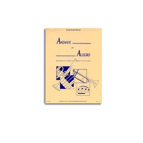 Guillaume Balay - Andante Et Allegro Pour Cornet En Si B闂備浇鍋愰崢褍鐣风猾绁 (Saxhorn En Si B闂備浇鍋愰崢褍鐣风猾绁 / Trompette En Ut Ou En Si B闂備浇鍋愰崢褍鐣风猾绁) Et Piano
