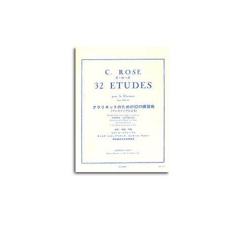 Cyrille Rose Et Pierre Lefebvre - 32 闂備浇鍋恉es Pour Clarinette, D闂傚倷鑳堕崑銊╁磿閺屻儲鍋橀悗鍦仐闂備胶绮銊╃嵁 Ferling