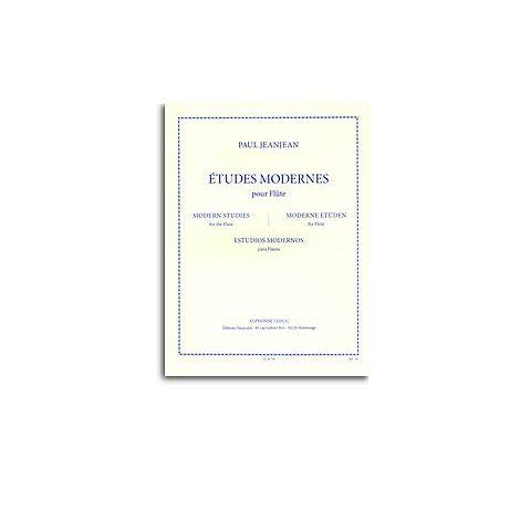 Paul Jeanjean: 闂備浇鍋恉es Modernes (Flute)