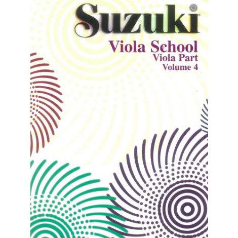 Suzuki Viola School (Viola Part) Volume 4