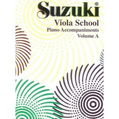 Suzuki Viola School (Piano Accompaniment) Volume A (1&2)