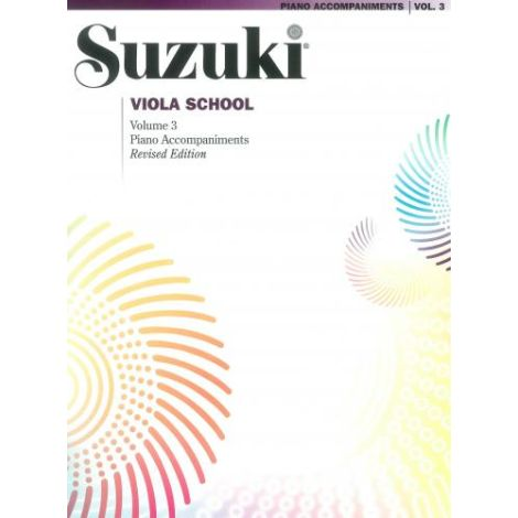 Suzuki Viola School (Piano Accompaniment) Volume 3