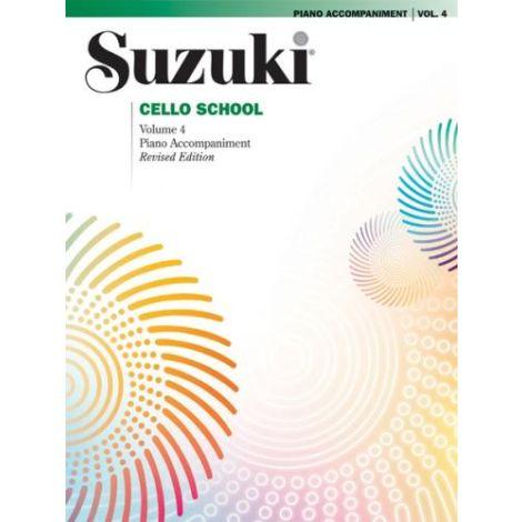 Suzuki Cello School - Volume 4 (Piano Accompaniment)