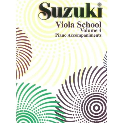 Suzuki Viola School (Piano Accompaniment) Volume 4