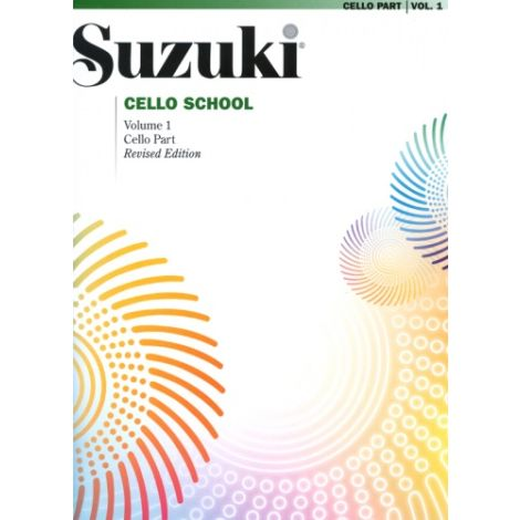 Suzuki Cello School - Volume 1 (Cello Part) Revised Edition