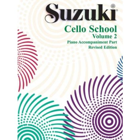 Suzuki Cello School - Volume 2 (Piano Accompaniment)