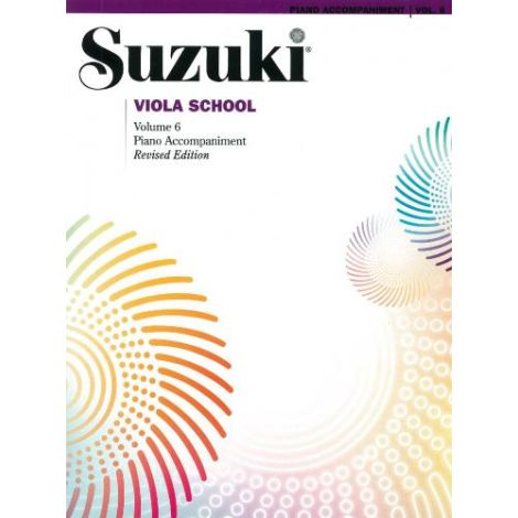 Suzuki Viola School (Piano Accompaniment) Volume 6 Revised Edition