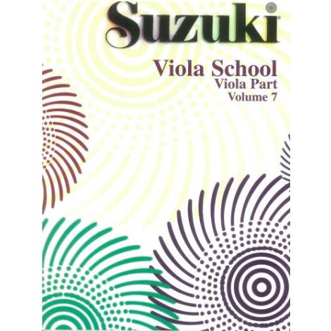 Suzuki Viola School (Viola Part) Volume 7