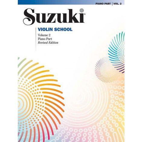 Suzuki Violin School - Volume 2 (Piano AccompanimeNT) REVISED EDITION