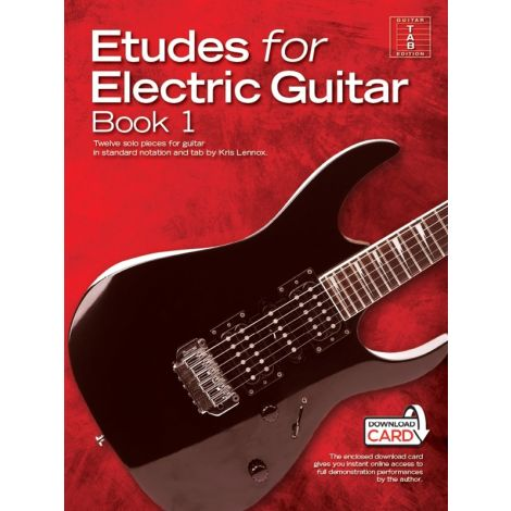 Kris Lennox: Etudes For Electric Guitar (Book/Audio Download)