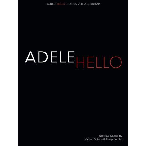 Adele: Hello (Piano, Vocal & Guitar)