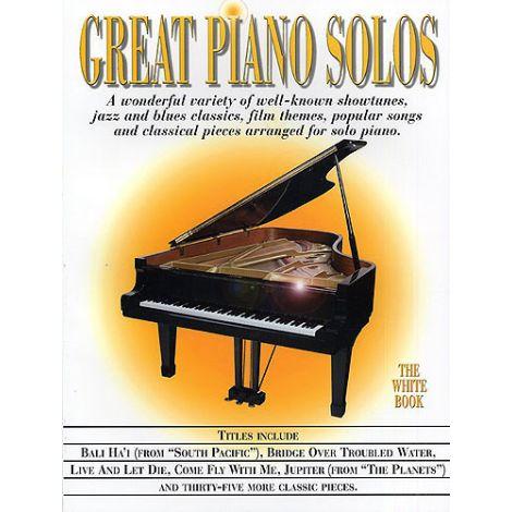 Great Piano Solos (White)