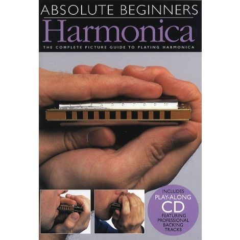 Absolute Beginners: Harmonica (Compact Edition) - Book/CD/Instrument Pack